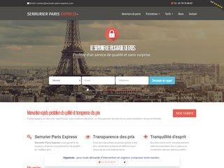 Avec Serrurier Paris Express, trouvez votre artisan serrurier de confiance