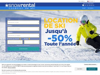 Snowrental : location de ski et snowboard discount