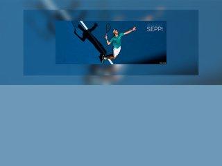 Screenshot of Andreas Seppi official website