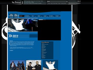 Screenshot of Dre official website