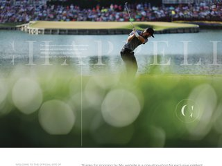 Screenshot of Kevin Chappell official website