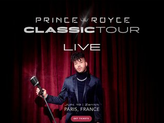 Screenshot of Prince Royce official website