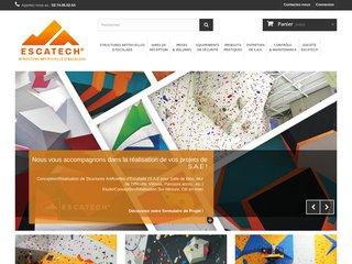 Escatech - Constructeur structure escalade