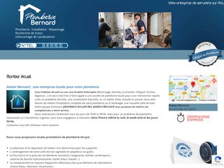Détails : Plombier Arcueil en express