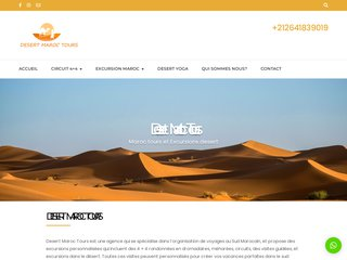 Détails : trekking desert maroc