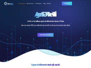 Détails : Création site web - Agence web Tunisie
