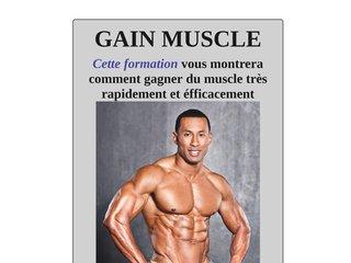 Guide de la prise de muscles rapide