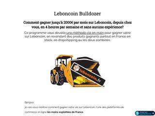 Leboncoin Bulldozer