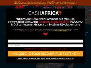 [CASHAFRICA]:encaissez ENFIN des euros en Afrique