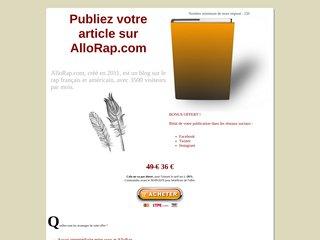 Publi-rédactionnel AlloRap.com