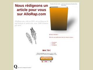 Article sponsorisé sur AlloRap.com