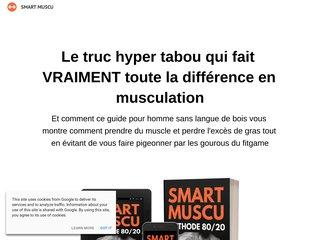 Smart Muscu Méthode 80/20