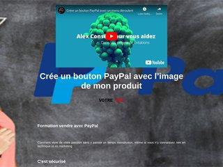 Formation vendre avec PayPal