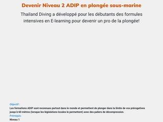 Devenir Niveau 2 ADIP en plongée sous-marine