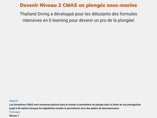 Devenir Niveau 2 CMAS en plongée sous-marine