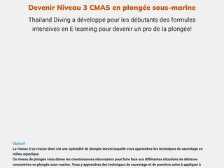 Devenir Niveau 3 CMAS en plongée sous-marine
