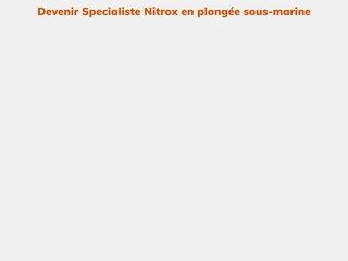 Devenir Specialiste Nitrox en plongée sous-marine