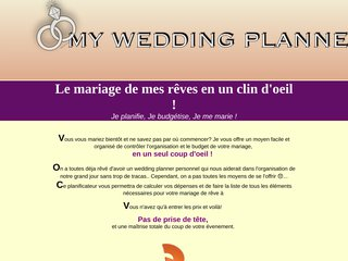 My Wedding Planner: Planificateur de mariage