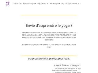 Programme Yoga Débutant