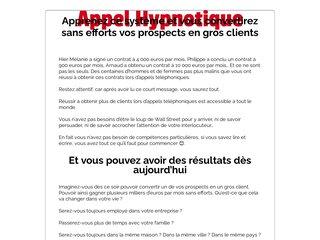 📞 Appel Hypnotique