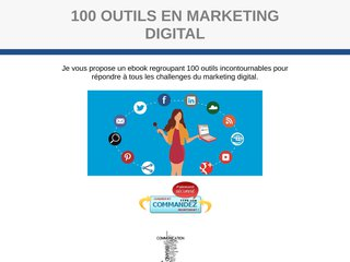 1OO outils en marketing digital
