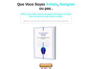 Que Vous Soyez Artiste, Designer ou pas...