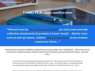 Ebooks PLR: Auto-amélioration