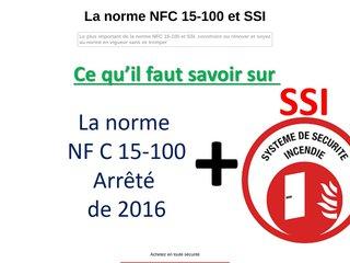 NFC 15-100 et SSI