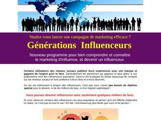 Génération Influenceurs