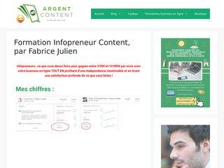 Formation Infopreneur Content
