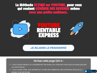 YouTube Rentable Express