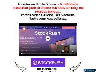 StockRush : 5 millions de vidéos, photos, audios