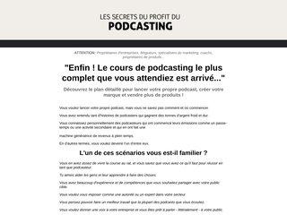 Les secrets du profit du podcasting