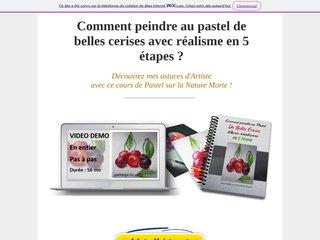 COMMENT PEINDRE DE BELLES CERISES AVEC REALISME