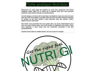 Fiches Pratique Santé en Nutrition
