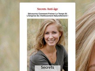 Secrets Anti-Age
