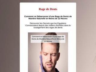Comment se Débarrasser d'une Rage de Dent