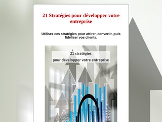 21 stratégies pour développer entreprise