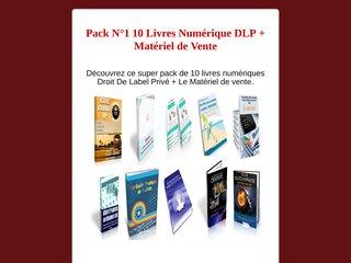 Pack N°1 10 Livres Numérique DLP + Matériel de Ven