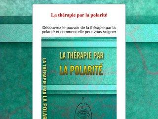 La thérapie par la polarité