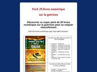 Pack 29 livres numérique sur la guérison