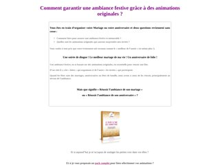 LE GUIDE ULTIME DES ANIMATIONS