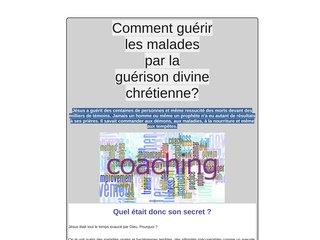 Coach Guérison Divine Chrétienne