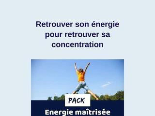 ENERGIE et CONCENTRATION avec contenu interactif