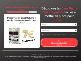 5 revenus passifs pour 2021