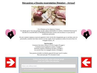 4 Ebooks revendables [Amours et Relations]
