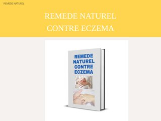 REMEDE NATUREL CONTRE ECZEMA