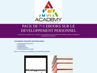 Pack de 7+1 ebooks sur le développement personnel