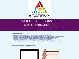 Pack de 7+1 ebooks sur l'entrepreneuriat