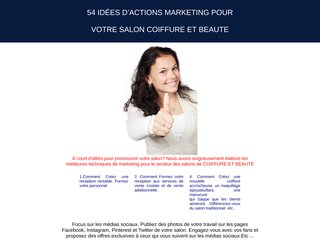 54 IDÉES D'ACTIONS MARKETING POUR VOTRE SALON